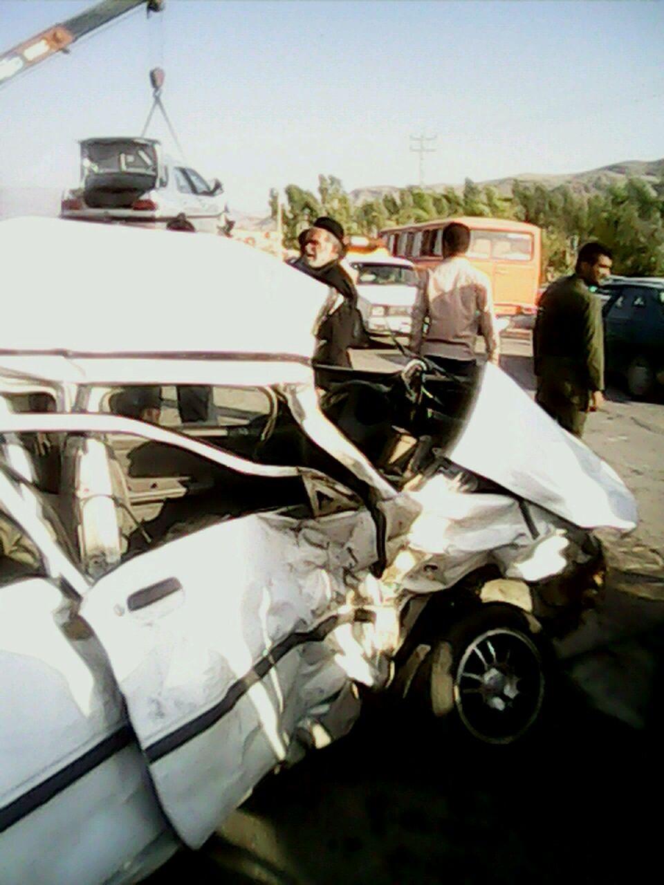 تصادف در ایذه یک کشته و ۵ زخمی برجای گذاشت