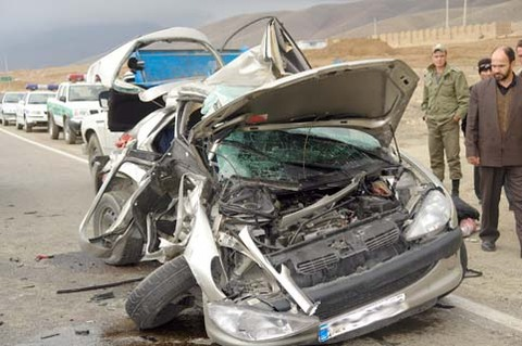 مجروحیت ۱۲ نفر در تصادفات محور ایذه-پیان/جای خالی اورژانس در این جاده