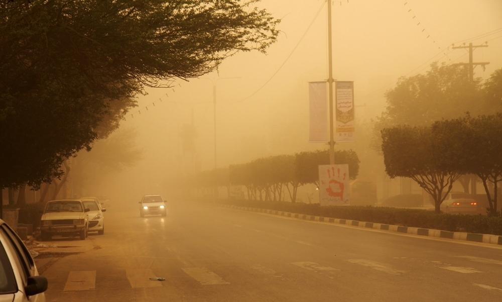 میزان گرد و خاک خوزستان مثل دما در حال بالا رفتن و داستان تکراری ادامه دارد