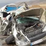 تصادف در محور ایذه به اهواز 5 کشته و زخمی برجای گذاشت