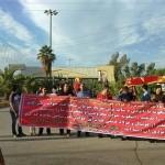 اعتراض هواداران و حمل نمادین تابوت فولاد + عکس