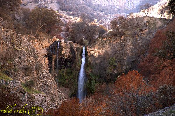 پائیز در ایذه/شیوند رنگارنگ در زیبایی آبشاران