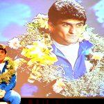 مراسم استقبال و تجلیل از «قهرمان کشتی فرنگی آسیا» در ایذه برگزار شد