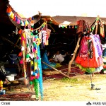 استقبال پرشور مسافران نوروزی از نمایشگاه بومی محلی شهرستان ایذه+تصاویر