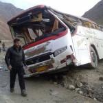 واژگونی اتوبوس در دهدز 4 کشته و 12 زخمی برجای گذاشت