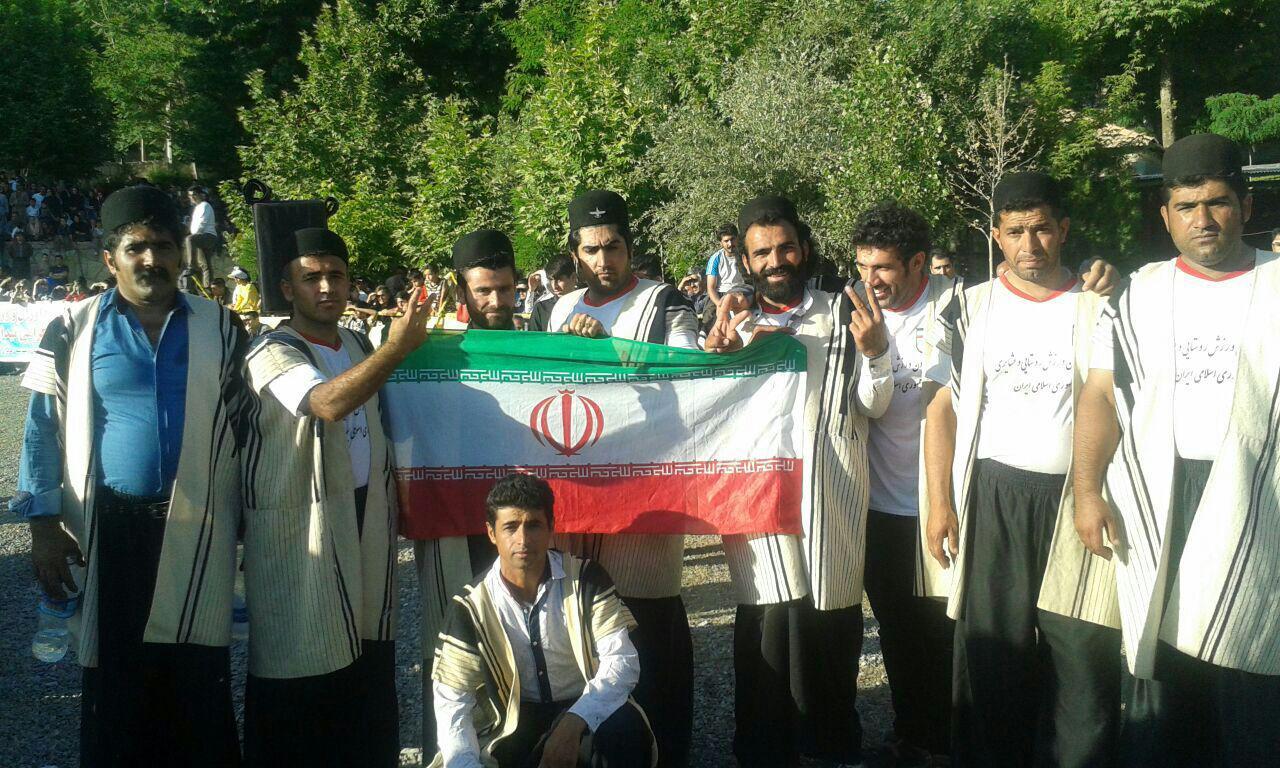 ایذه قهرمان مسابقات بینالمللی بومی و محلی کردستان شد