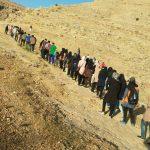 همایش پیادهروی سالمندان در ایذه برگزار شد