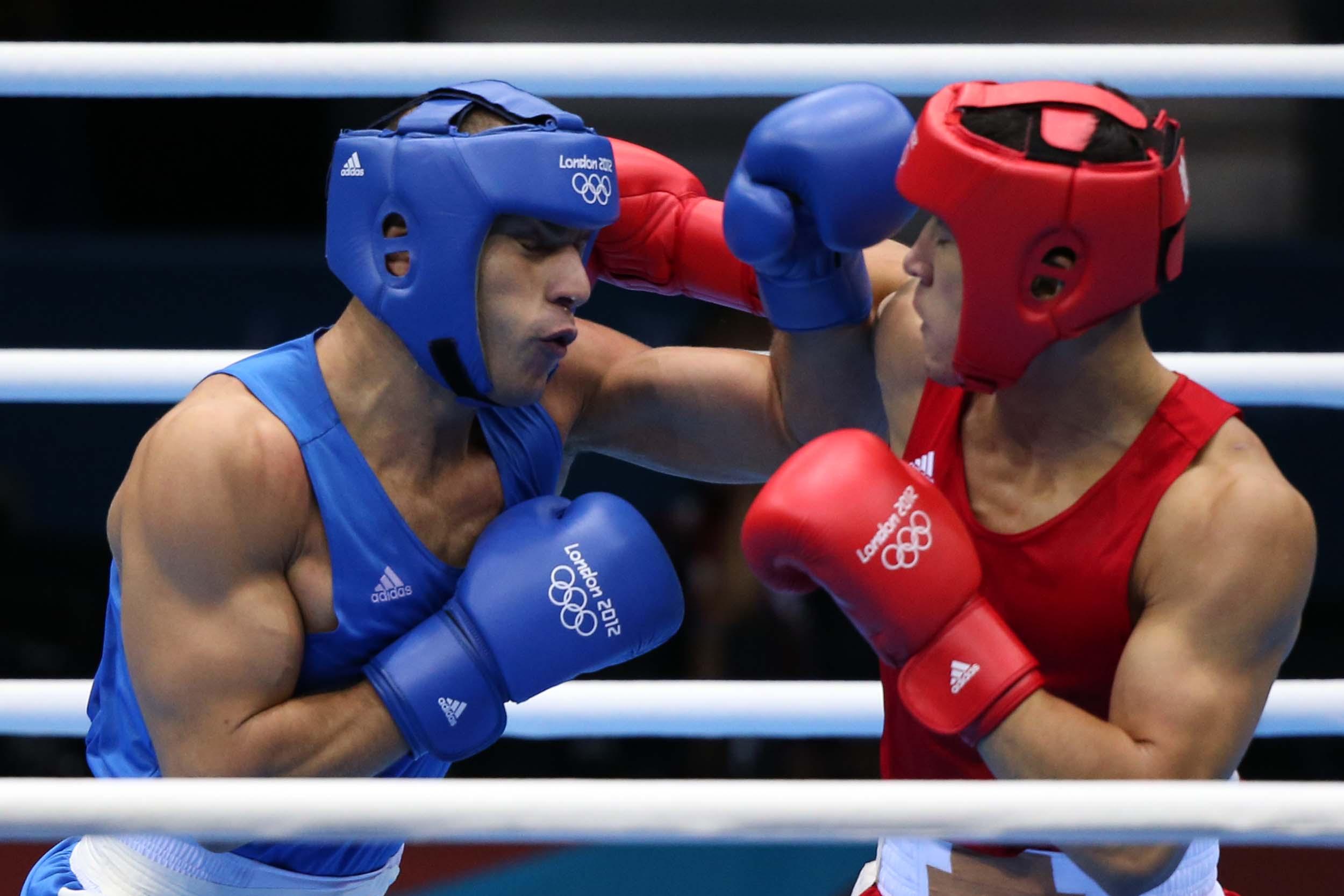 بوکسور جوان ایذهای در راه مسابقات قهرمانی آسیا