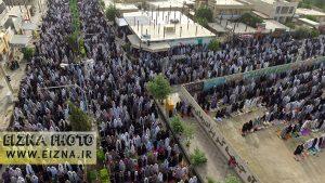 عکس از نماز عید فطر در ایذه