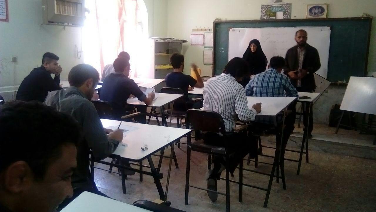 برگزاری آزمون مهارت آموزشگاههای هنری ایذه با حضور 116 هنرجو