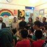 برگزاری کارگاه و نمایشگاه نقاشی کودک در ایذه