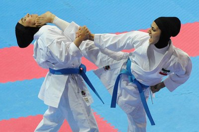 درخشش بانوان ایذهای در مسابقات کاراته قهرمانی کشور با کسب مدالهای رنگارنگ
