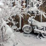 برف در خاک؛ ایذه برف بارید / خوزستان در محاصره خاک