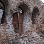 درز مرگ بر دل هزاران سال تاریخ / دیواره کوشک تاریخی نورآباد ایذه فرو ریخت