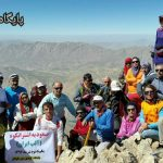 کوهنوردان ایذهای برفراز آلپ ایران ایستادند