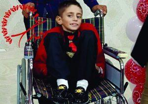 گزارش تصویری از داماد شدن پسر 7 ساله ایذهای