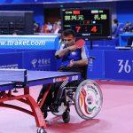 کسب عنوان سومی ورزشکار ایذهای در مسابقات جهانی تنیس روی میز معلولان و جانبازان