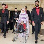 جشن عروسی کودک 7 ساله ایذهای در اهواز/فراموشی درد برای چند ساعت+عکس