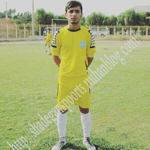 فوتبالیست جوان ایذهای درگذشت