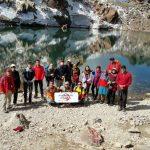 شیران منگشت برفراز سبلان/ کوهنوردان ایذهای سومین قله مرتفع ایران را زیر پا گذاشتند