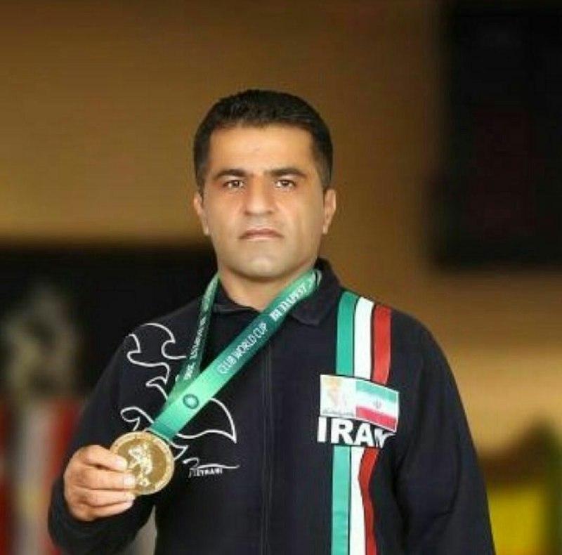 فرنگیکار پیشکسوت ایذهای مدال طلای مسابقات کشتی قهرمانی جهان را بهدست آورد