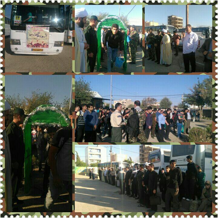 اعزام ۷۶۰ دانشآموز ایذهای به مناطق عملیاتی هویزه و گمبوعه