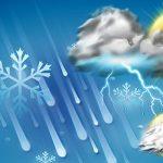 جدال عناصر جوی برای بازگشت باران به آسمان ایذه