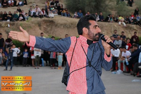 امید احمدی نیا بازیگر طنز ایذه
