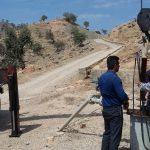 تعویض الکتروموتور تاسیسات آبرسانی روستایی شوار