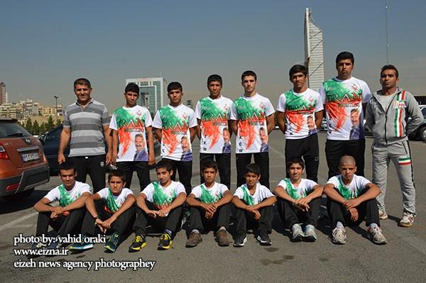درخشش تیم کشتی نوجوانان سینا صنعت ایذه در تورنمنت بین المللی ارمنستان