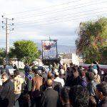 با حضور سرداران کشوری؛ پیکر سردار قدرت الله منصوری در ایذه به خاک سپرده شد+تصاویر