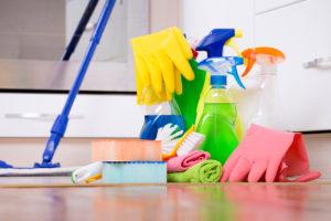 خانه تکانی و مواد شوینده