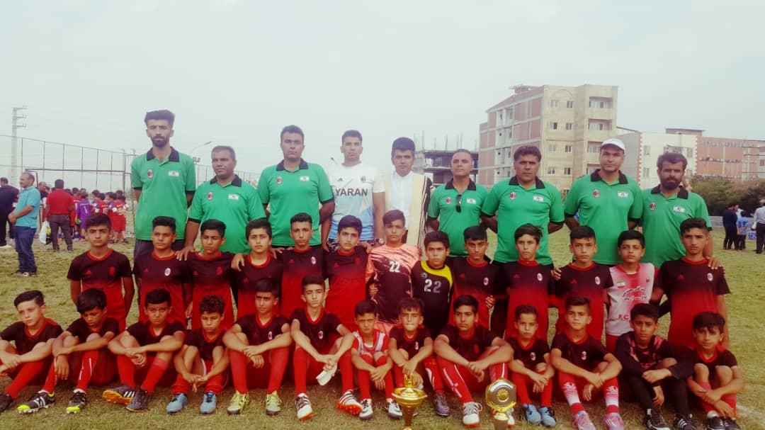 درخشش نونهالان ایذهای در فستیوال کشوری فوتبال مازندران