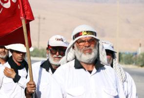 کاروان پیاده انصار الحسین مشهد به کربلا به ایذه رسید