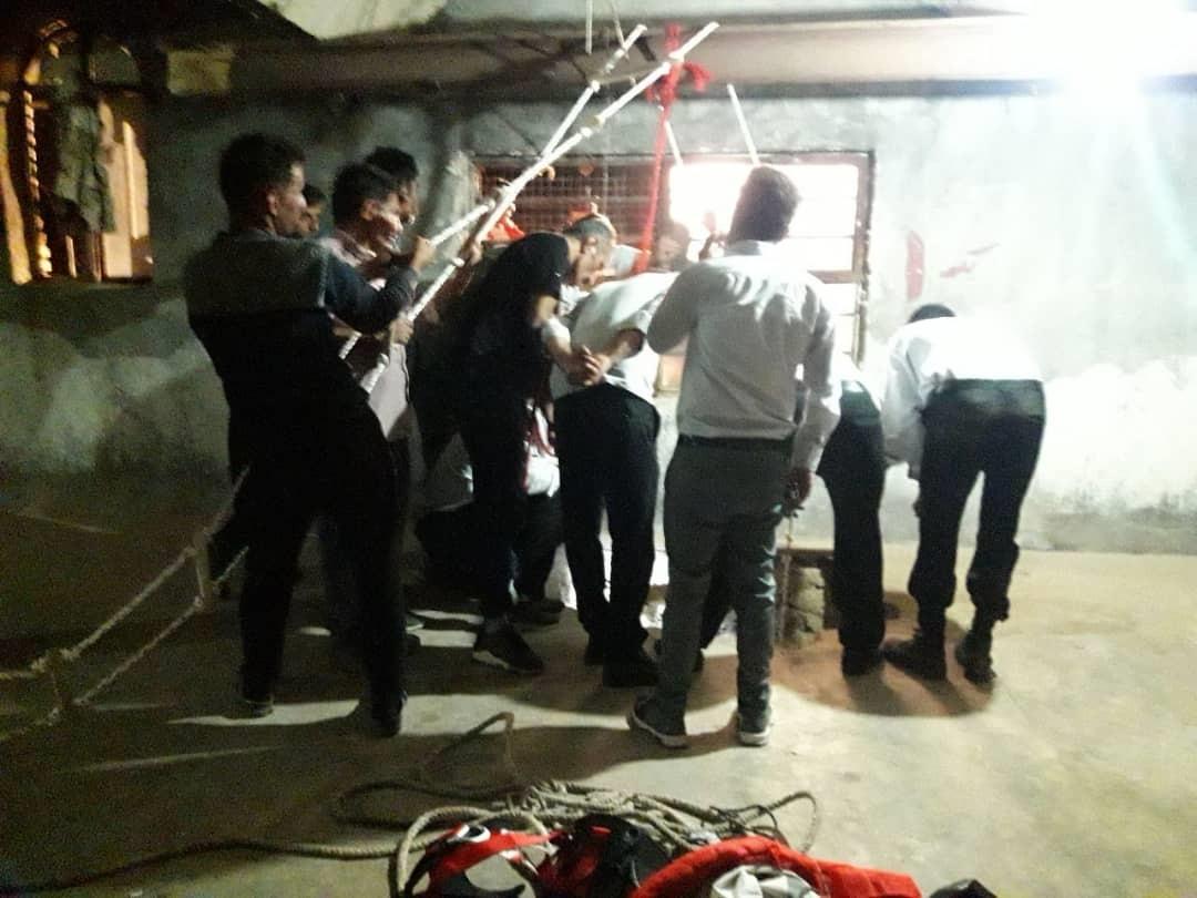 سقوط کارگر ایذهای در چاه آب در کولفرح
