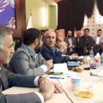 سید حمید پورمحمودی معاون سازمان برنامه و بودجه خوزستان در ایذه