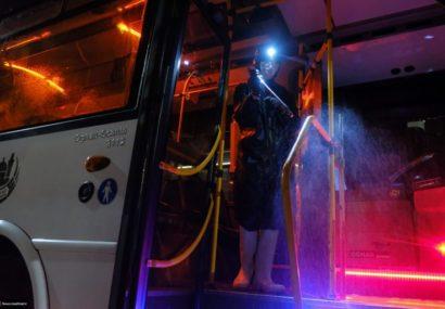 ضرورت کنترل ترمینال و شستن اتوبوسها در محل کنترل شده در ایذه