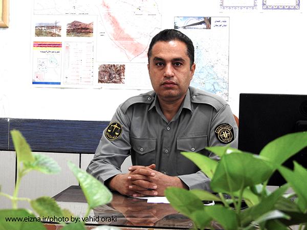 احمد امیری رئیس اداره حفاظت محیط زیست شهرستان ایذه