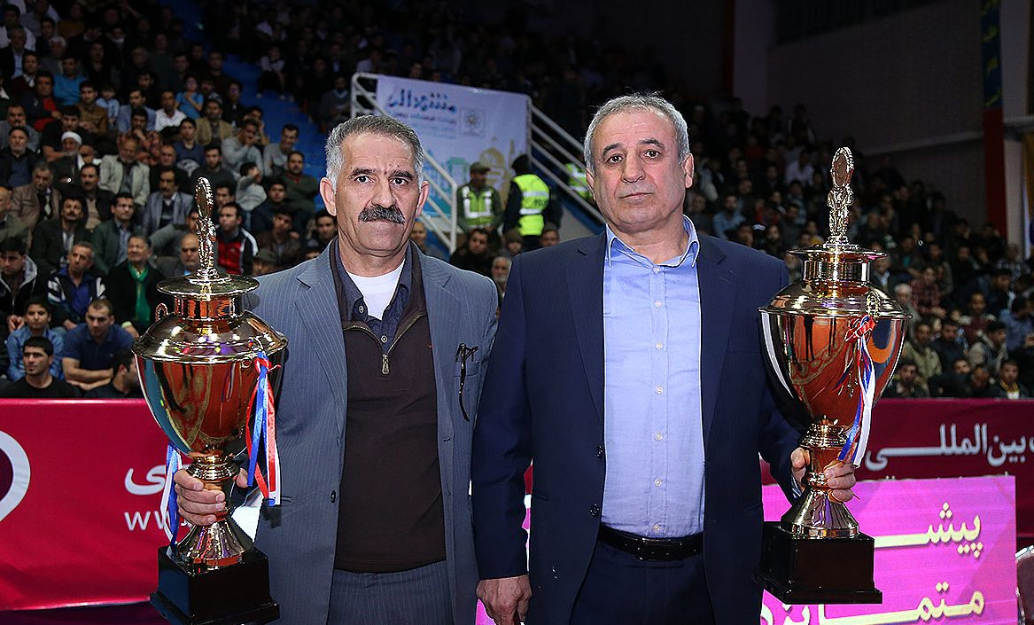 سینا صنعت ایذه به عنوان برترین باشگاه کشتی فرنگی ایران در سال ۹۵ معرفی شد