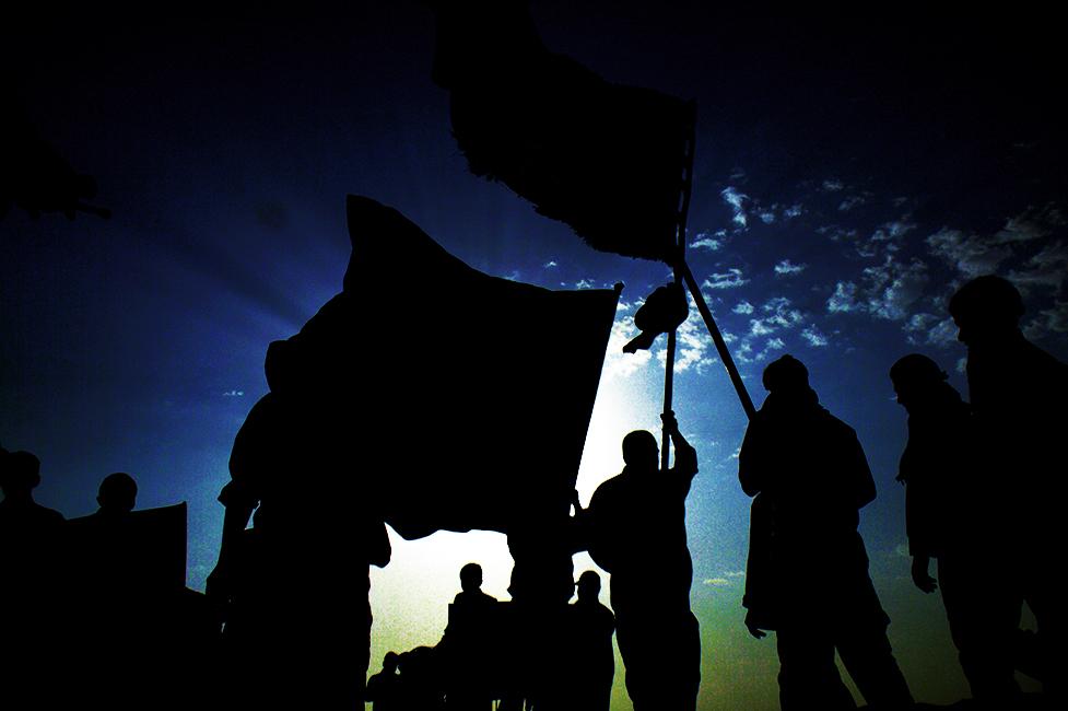 مراسم استقبال از کاروان پیاده انصارالحسین (ع) در ایذه برگزار شد+تصاویر