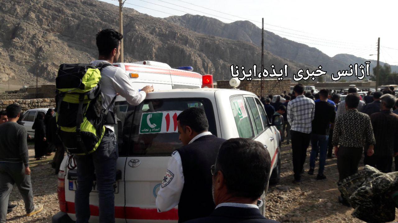سقوط شهروند ایذه ای از کوه خنگ اژدر جان وی را گرفت