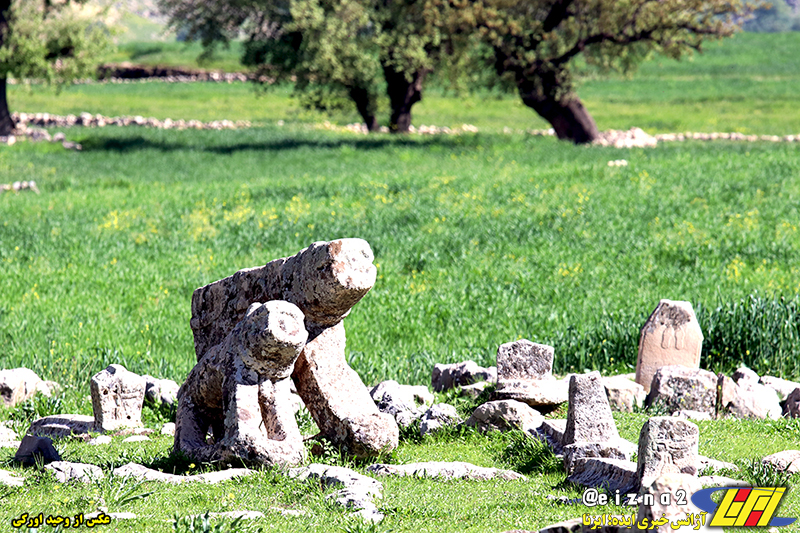 طبیعت زیبای بهاری دشت سوسن در شهرستان ایذه میزبان مهمانان و گردشگران نوروزی