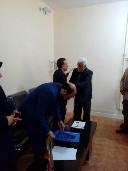 «حسین خواجوی» رئیس جدید اداره آبفا ایذه شد