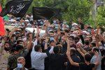 عکس | بازگشت پیکر شهید بهروز محمدی پس از ۳۸ سال جاویدالاثری/استقبال باشکوه مردم ایذه از شهدای تازه تفحص شده